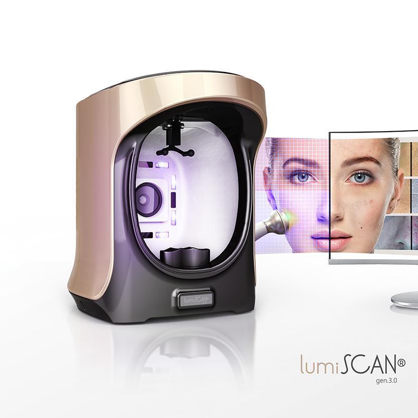 Analiza skóry LumiScan Gen.3.0 - poznaj  pierwsze w Polsce narzędzie sprzedażowe dla Twojego salonu