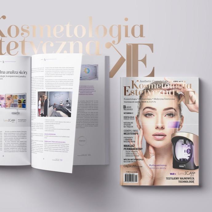 """Multispektralna analiza skóry. Redakcja """"Kosmetologii Estetycznej"""" testuje LUMISCAN GEN. 3.0.!"""
