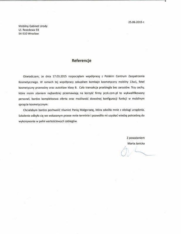 Referencje - Marta Janicka